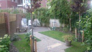 Achter tuin